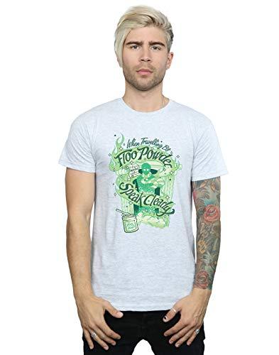 Harry Potter Hombre Floo Powder Camiseta Deporte Gris XXXXX-Large