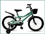 "CAYA Aviator 20 Kid's Bikes   Cycle for Boys and Girls 20"" inches Steel Frame 8-11 Years (Metallic Aqua Green)"