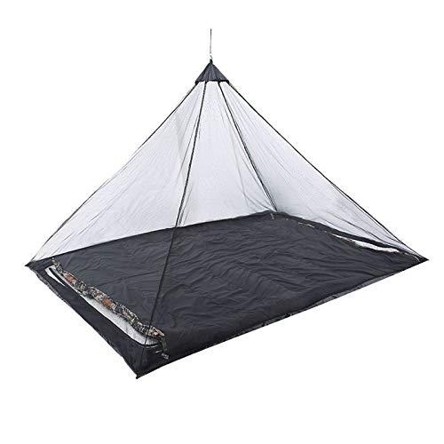 NO LOGO HWW-Net Mosquito Net Tienda de campaña portátil para Acampar al Aire Libre para una Cama Individual para Acampar Anti mosquitero Cama Tienda de campaña decoración de Malla