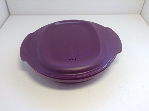TUPPERWARE Mikrowelle Micro Healthy Delight 775 ml lila großer Omelett-Meister