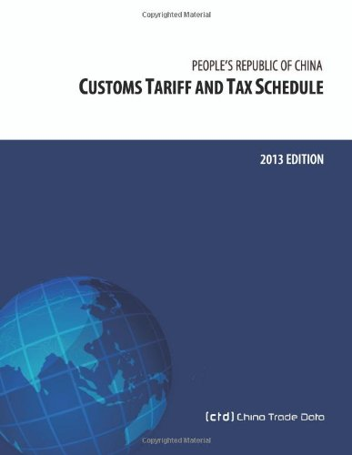 Hot Sale People's Republic of China Customs Tariff and Tax Schedule: 2009 Edition