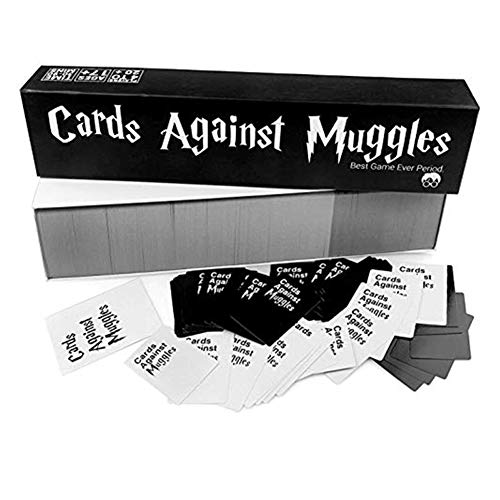 Wan&ya Cards Against Muggles NSFW Card Game, Anti Human Card Game Harry Potter Board Game Quiz Juego de Cartas para Adultos y Adolescentes