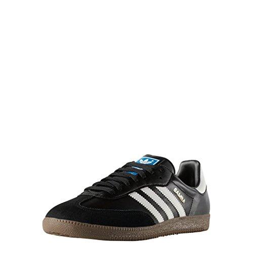 Adidas Samba, Unisex-Erwachsene Sneakers, Schwarz (Black 1/White/Gum5), EU 38