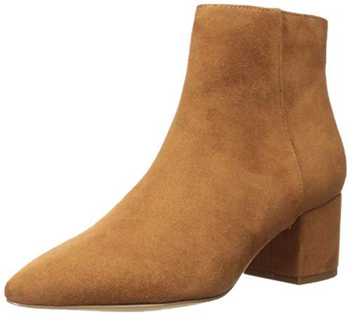 The Drop Jenny, stivali con zip laterale e tacco a blocco, Marrone, 38 EU