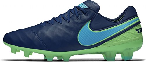 Nike 819177-443, Scarpe da Calcio Uomo, Blu, Verde (Coastal Blue Polarized Blue Rage Green), 42.5 EU