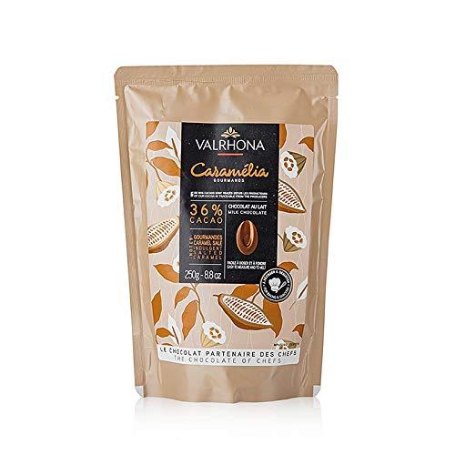 Valrhona Caramelia, Milchschokolade 36%, Callets, 250 g