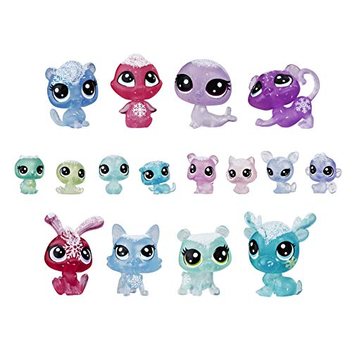 Littlest Pet Shop- Frosted Wonderland Pet Pack, Multicolor (Hasbro E5480EU5)