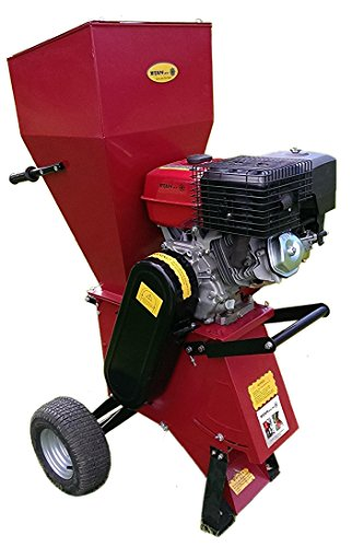 Garden Chipper Shredder | 15HP Electric Start Mulcher | Petrol Chipper Titan Pro