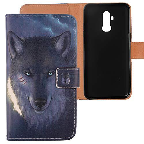 Lankashi PU Flip Leder Tasche Hülle Hülle TPU Silikon Cover Handytasche Schutzhülle Etui Skin Für Ulefone Power 3L 6