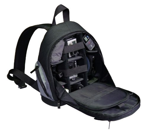 GEM Titanium Storage Backpack for GoPro Cameras - Housing for a Wide...