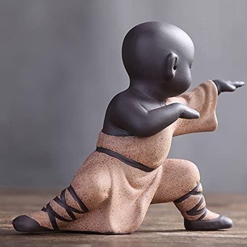 Estatuas de Buda Figuras Zen Decoracion Salon, Estatuas de Pequeño Monje de...