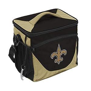 NFL Logo Brands New Orleans Saints 24 Can Cooler, Team Color