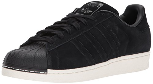 Adidas Originals Superstar Kinder-Sneaker, Schwarz (Core Black/Black), 17 EU