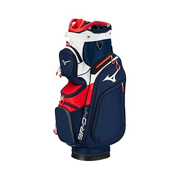 Mizuno-BRD4-Cart-2019-Sac-de-Golf-Mixte-Adulte-Navy-Red-FR-Fabricant-Taille-Unique