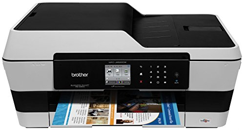 Brother Printer MFC-J6520DW Wireless Color Printer with Scanner, Copier and Fax, Amazon Dash Replenishment Ready