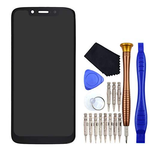 VEKIR Negro Moto G7 Play Pantalla LCD digitalizador de Pantalla reemplazo Compatible con Motorola Moto G7 Play