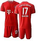 JEEG 20/21 Herren Boateng 17# Fußball Trikot Fans Jersey Trainings Trikots (S)