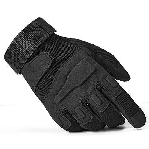 Wepop Taktische Handschuhe Herren Vollfinger Militär Hartgummi Knöchel Fingerlose Touchscreen Outdoor Sport für Motorrad Radfahren Outdoor Gym