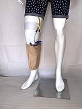 "Urine bag holder/Foley fix with leg pouch for Urine Bag (Medium (Leg Circum 12.5"" - 14""))"