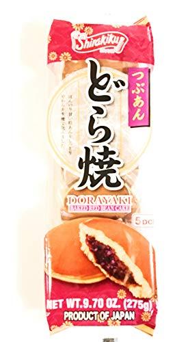 Shirakiku Baked Red Bean Cake 5 Pcs 9.70 Oz