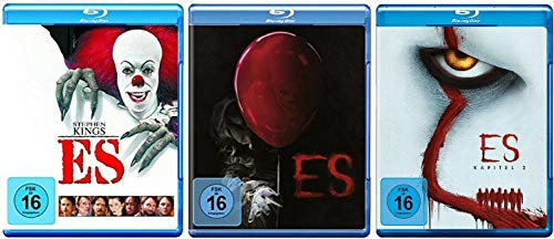 Stephen Kings Es 1-3 / Original + Neuverfilmung Kapitel 1+2 [Blu-ray Set]