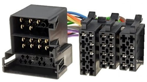 OPEL neuf écran à un câble adaptateur radio iSO mID câble mâle, trois fois/jour
