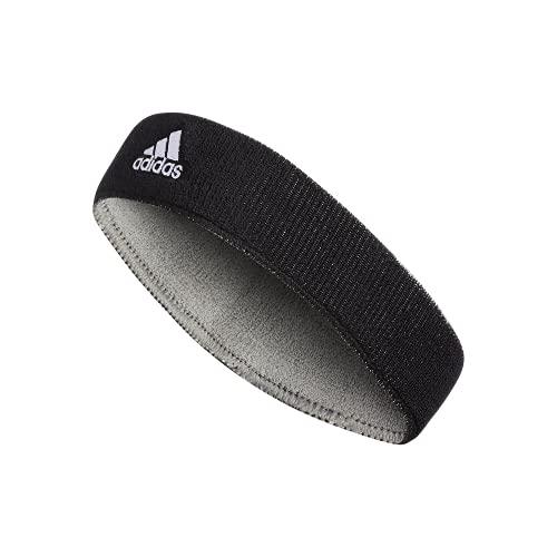 adidas Unisex Interval Reversible Headband, Black/White Aluminum 2/Black, ONE SIZE