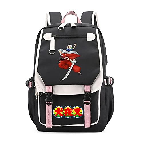 SHU-B InuyashaZaino per ragazze, Zaino per le scuole per bambini Zaino per bambini Ideale per studenti delle scuole elementari Outdoor Daypack Borsa da viaggio per adulti