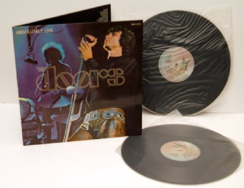 THE DOORS, Absolutely Live Double album. Top copy. Very rare. 1970. Matrix stamp. A1, A2, B1, B2. elektra.