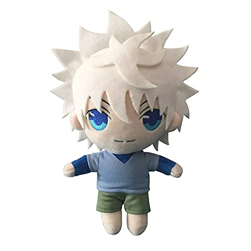Hunter x Hunter Plush Toy 20cm Hisoka/Killua Zoldyck Plush Anime Figure Plush Cute Stuffed Anime Figure Toy Gifts for Adults Kids