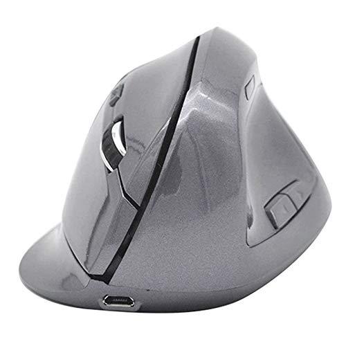 Ratón inalámbrico, ratón inalámbrico Ergonómico Recargable Recargable, computadora, ratón Bluetooth para Windows 10/8/7 / XP/Mac/MacBook Pro/Air/HP/Acer