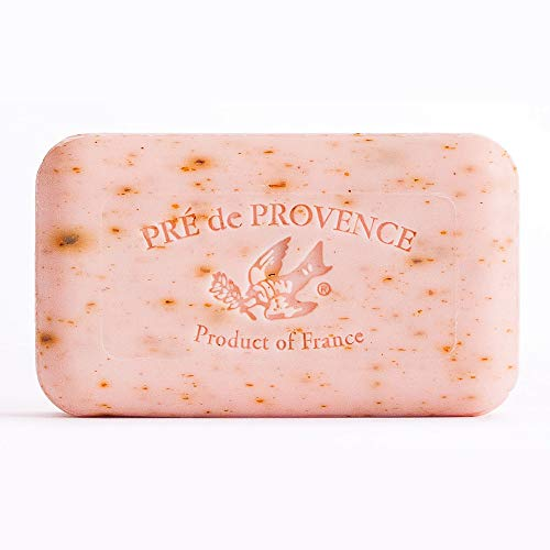 Pre de Provence Artisanal French Soap Bar Enriched with Shea Butter, Rose Petal, 150 Gram Idaho