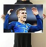 Nationalmannschaft Flügelspieler Poster Französisch