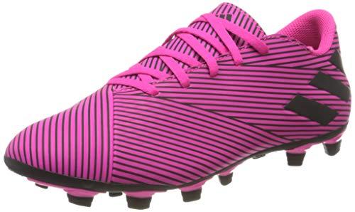 adidas Unisex-Erwachsene Nemeziz 19.4 Fxg Fußballschuhe, Mehrfarbig (Shock Pink/Core Black/Shock Pink 000), 42 2/3 EU