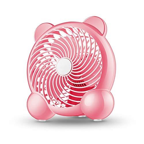 FSCZHLK ventilator met dubbele balk, creatieve dubbele stang ventilator, voor op kantoor thuis, laptop, pc, elektrische ventilator voor notebook, met vleugels