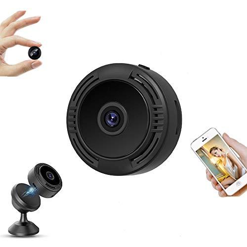 Mini Spy Hidden Camara Espía Oculta,Cámaras Espía WiFi,1080P HD Micro Cámaras Espía Inalámbrica Pequeña Cámara Oculta,Camaras de Seguridad Pequeña para Interior/Exterior Video Portátil