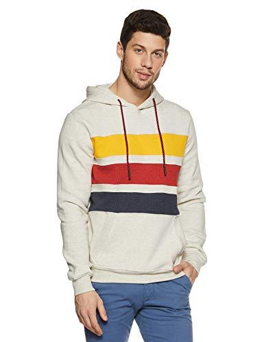 United Colors of Benetton Men's Sweatshirt (18A3S44J8035I_902_S_Oatmeal Melange)