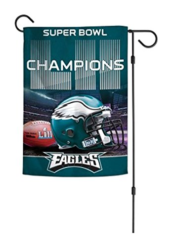 NFL Philadelphia Eagles Super Bowl LII Champions 2-Sided Garden Flag