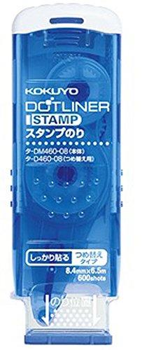 コクヨ テープのり のり ドットライナー スタンプ 本体 タ-DM460-08