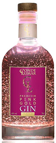 BONUS. Ginebra rosa con oro Conde Lumar Pink Gold Gin