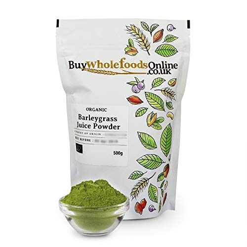 Organic Barleygrass Juice Powder 500g (Buy Whole Foods Online Ltd.)