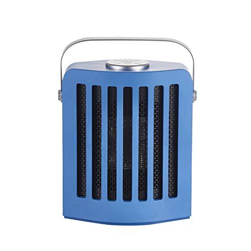 YANGBSH Heaters Electric Fan Ceramic Heater Small Ptc Heater, Fast Hot Desktop Heating Silent Electric Heater,Blue