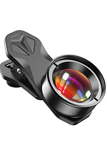 APEXEL Obiettivo professionale per fotografia macro obiettivo lente macro obiettivo hd della fotocamera del telefono per iPhone, Pixel, Samsung Galaxy, Huawei, Xiaomi e la maggior smartphone