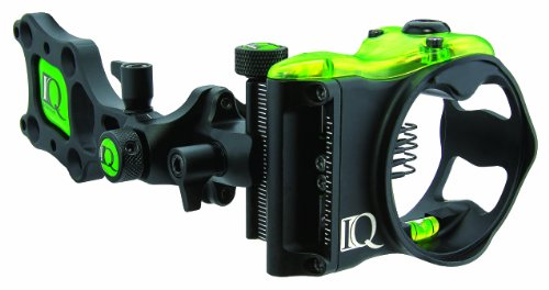 IQ Bowsights 5-Pin Micro Bowsight with Retina Lock Technology,Right Hand, Black