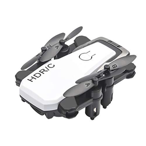 Toyvian D2 Mini Rc Drone Controle Remoto Dobrável Quadcopter Altitude Segurar Quadcopter Mini Drone para Iniciantes Controle da Gravidade Modo Sem Cabeça Uma Chave Tirar Presentes