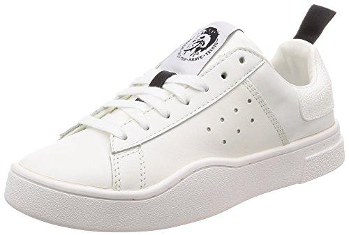Diesel Damen S-clever Low W Sneaker, Weiß (White/White H0038-P1729), 37 EU
