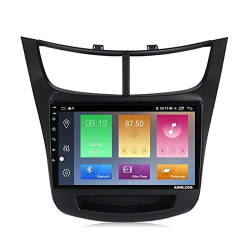 WY-CAR Android 10.0 Unidad Principal De Reproductor Multimedia con Pantalla Táctil De 9 Pulgadas para Chevrolet Sail 2015-2018, Am/FM/RDS/DSP/Bluetooth/SWC/Mirror Link/Cámara De Visión Trasera