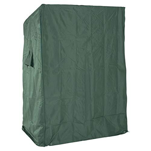 LILIMO Abdeckhaube Ripstop Premium, Size M, grün, für 2-sitzer Strandkorb bis 120 cm