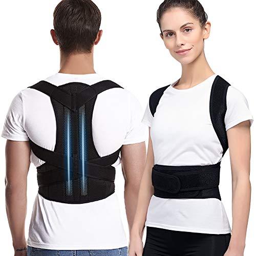 ANTOPM Haltungskorrektur, Rückenkorrektur Für Die Lendenwirbelsäule Der Wirbelsäule, Rücken Verstellbare Rückenstütze Für Damen Herren