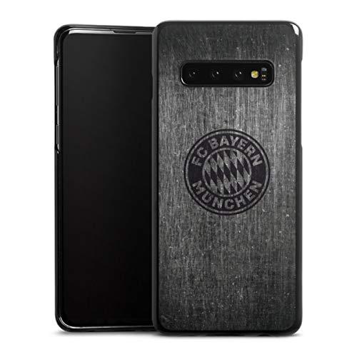 DeinDesign Hard Case Metallic kompatibel mit Samsung Galaxy S 10 Smartphone Backcover FC Bayern München Logo